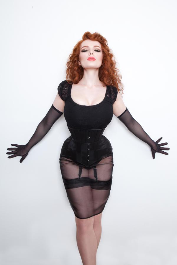 Lilith sheer skirt