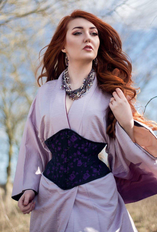 Purple rose cincher