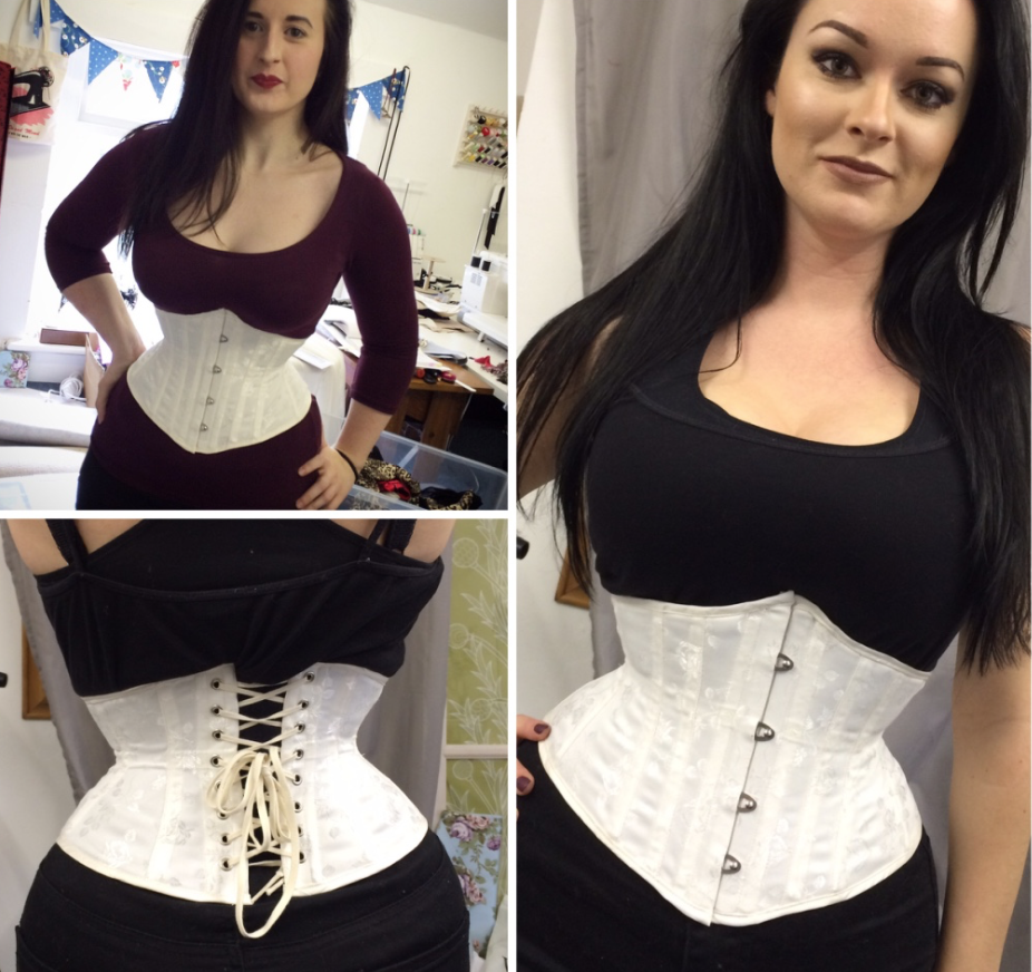 Same corset, different girls.
