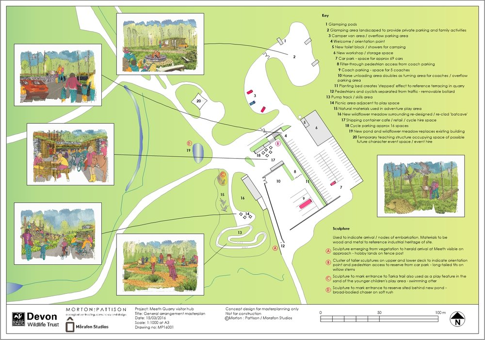 Masterplan landscape layout