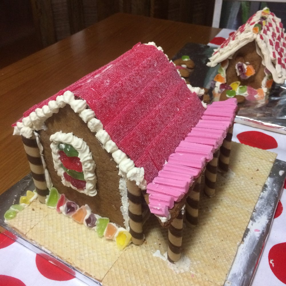 Australian Style Gingerbread House