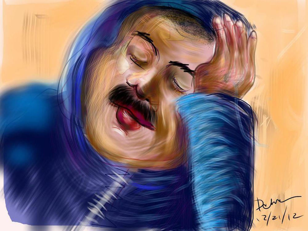 Metro Portrait: Fatigado