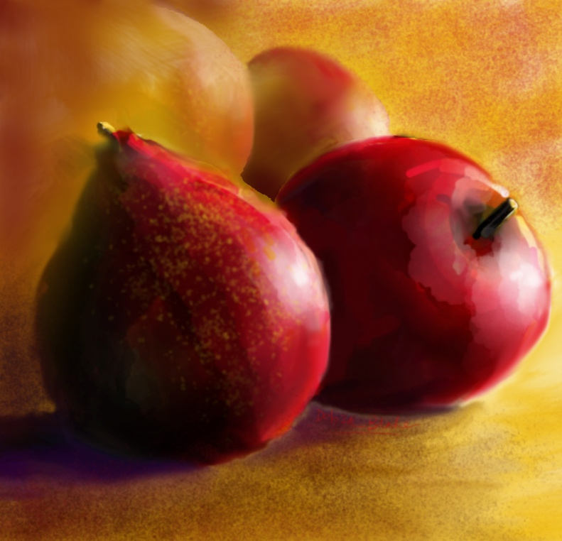 Red Fruit, digital, intuitive