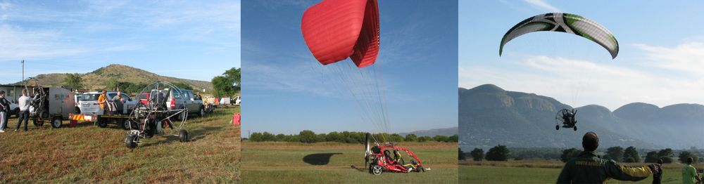 Powered paratrike flying and training at The Skywalk Adventure Park