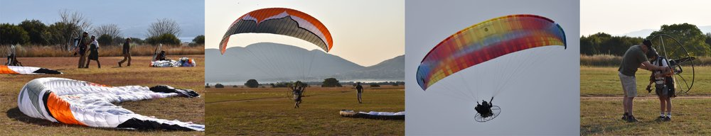 Paramotor flying and training at The Skywalk Adventure Park