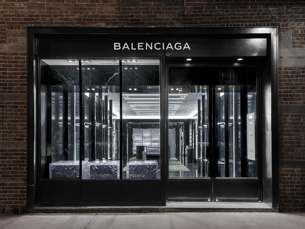 BALENCIAGA MEN'S FLAGSHIP
