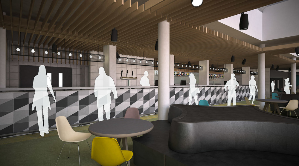 Winning Interior Designers Nomad RDC To Produce Conceptual Visuals For The Refurb Of Guild Students At University Liverpool