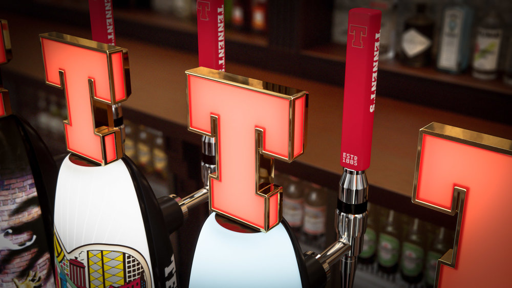 Tennent's the perfect pint
