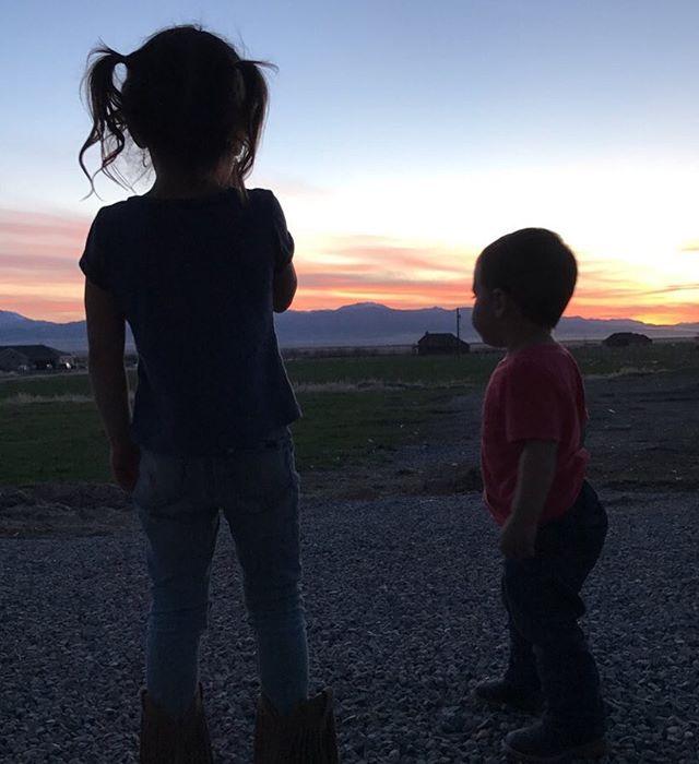 My kids! #lovebeyondwords #beautifulutah