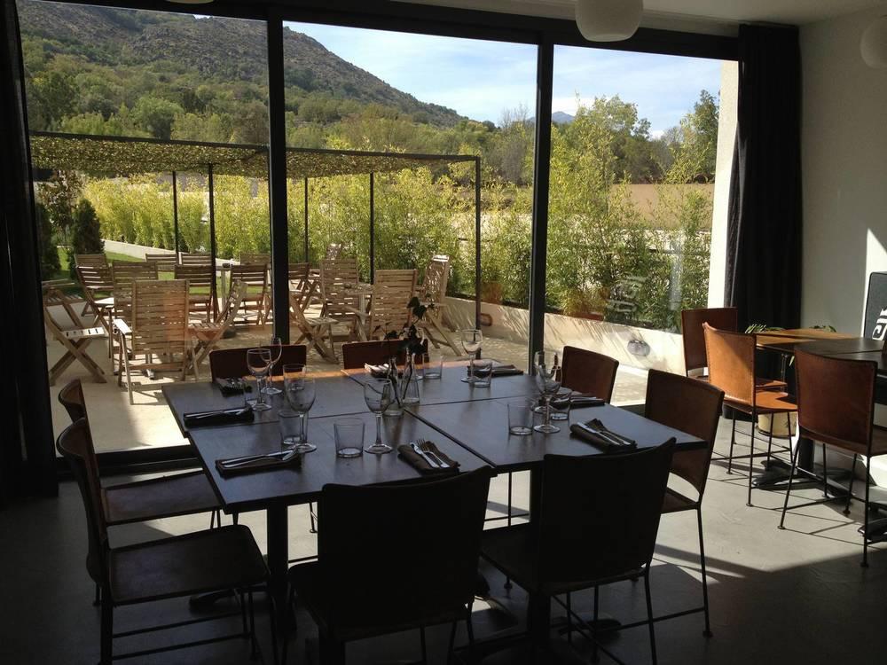 El Hotelito - vistas del restaurante
