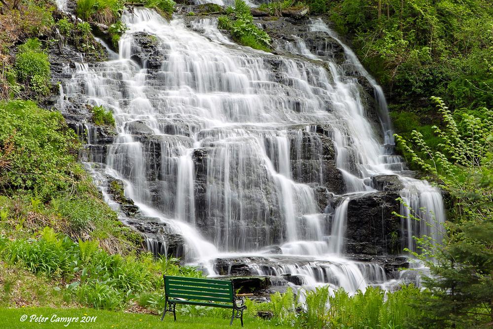 Slatestone Brook Falls, Sunderland, MA