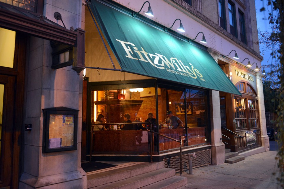 Friday night we'll enjoy a group dinner at Fitzwilly's Restaurant