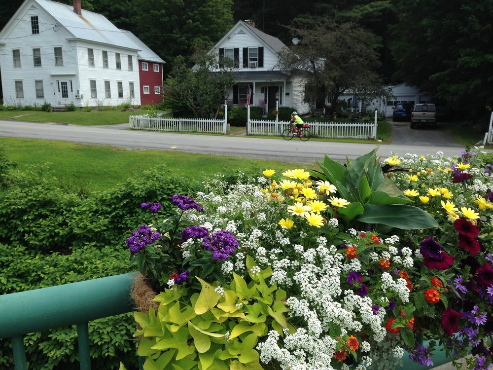 Cycling through Vermont's charming villages