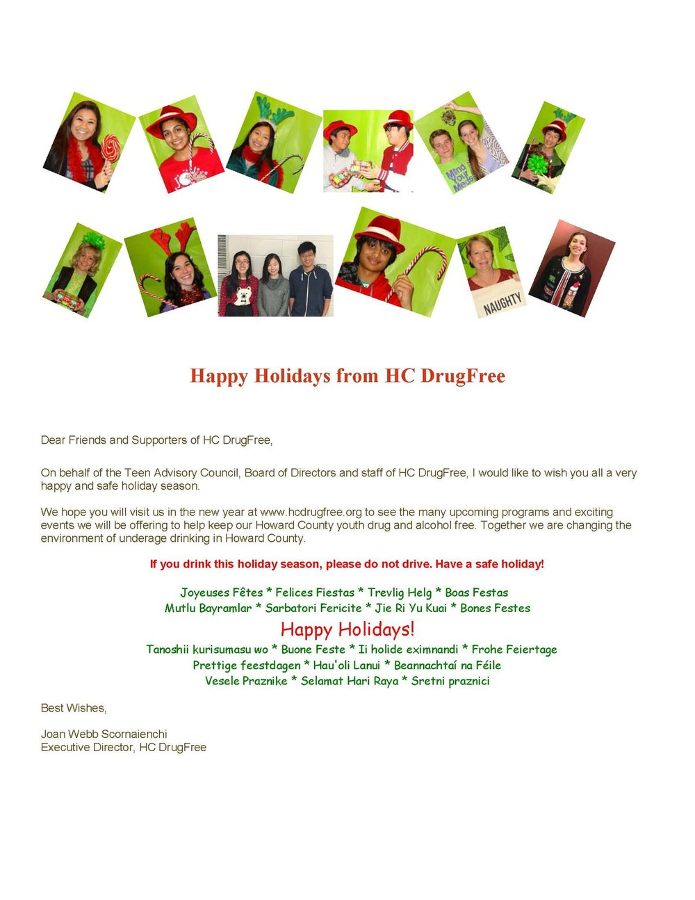 Click on the image to see our Holiday greeting.