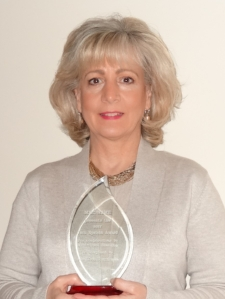Joan Webb Scornaienchi 2017 winner of the Jack Epstein Award