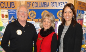 Rotary Club of Columbia Patuxent 1-5-18 (Cliff Feldwick Joan Webb Scornaienchi Kim Oldham).jpg