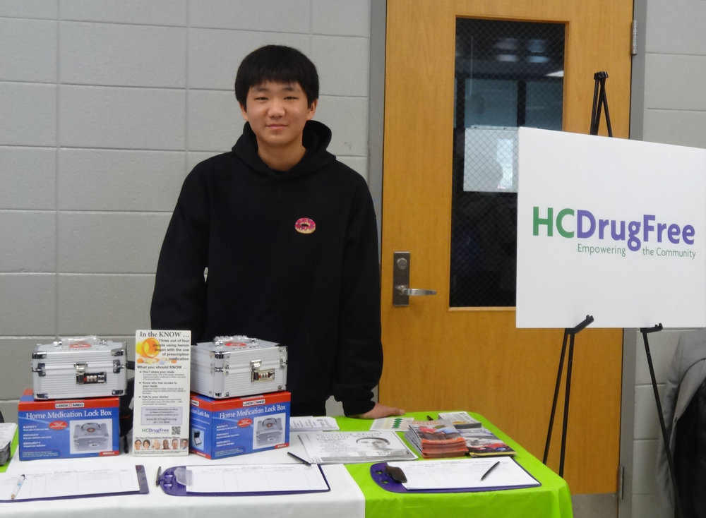 TAC Educates Other Teens about Medication Storage and Disposal at Local Fairs