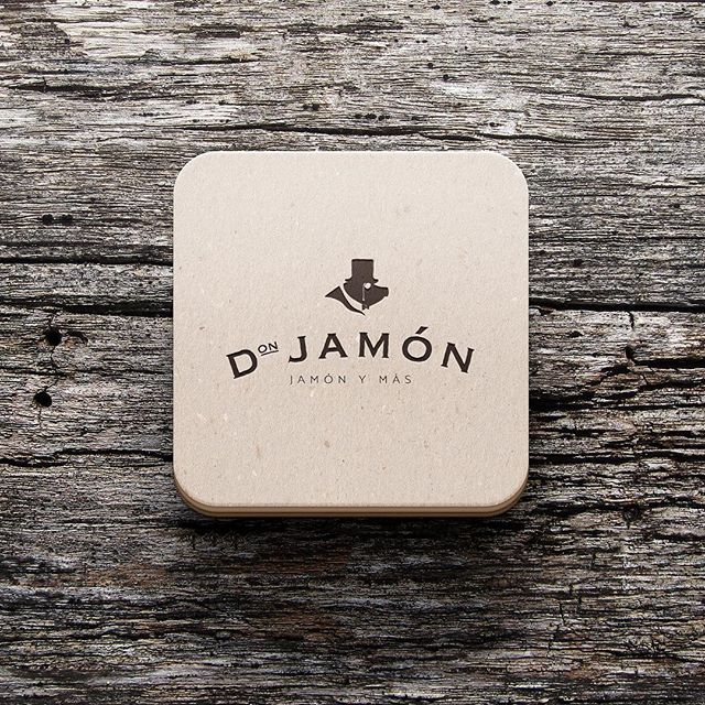 🎩🐷DON JAMÓN 🐷🎩 Imagen corporativa desarrollada por #theoffice4design #branding #logo #design #designer #jamon #ricorico