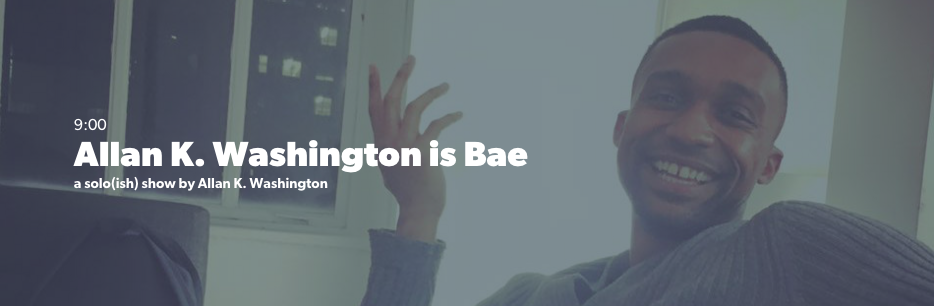 Allan K. Washinton is Bae | Loft227 | Anna Rooney Producer