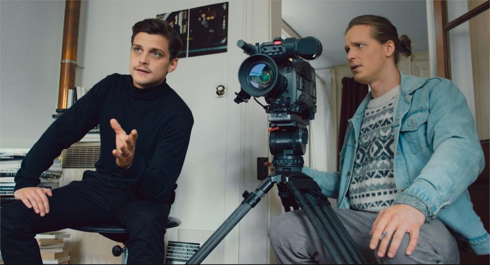 """Julian Koechlin und Saladin Dellers in """"Der Judenfilm"""" (Regie: Micha Muhl)"""