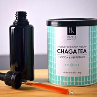 DIY chaga tincture