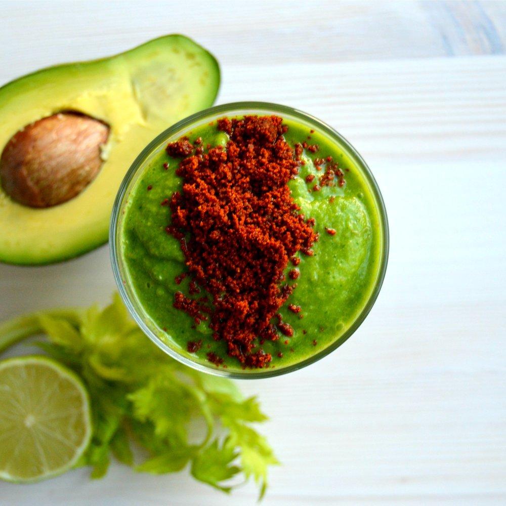 sea buckthorn green smoothie