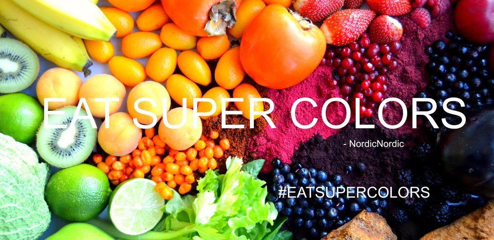 Eat super colors- rainbow