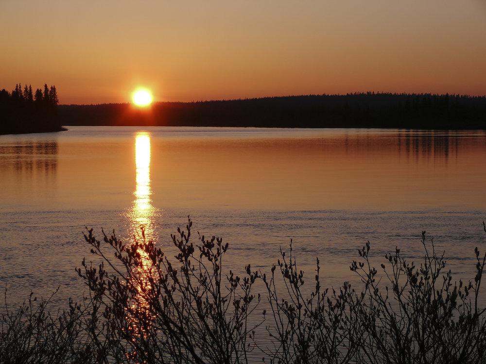 Finland land of the midnight sun