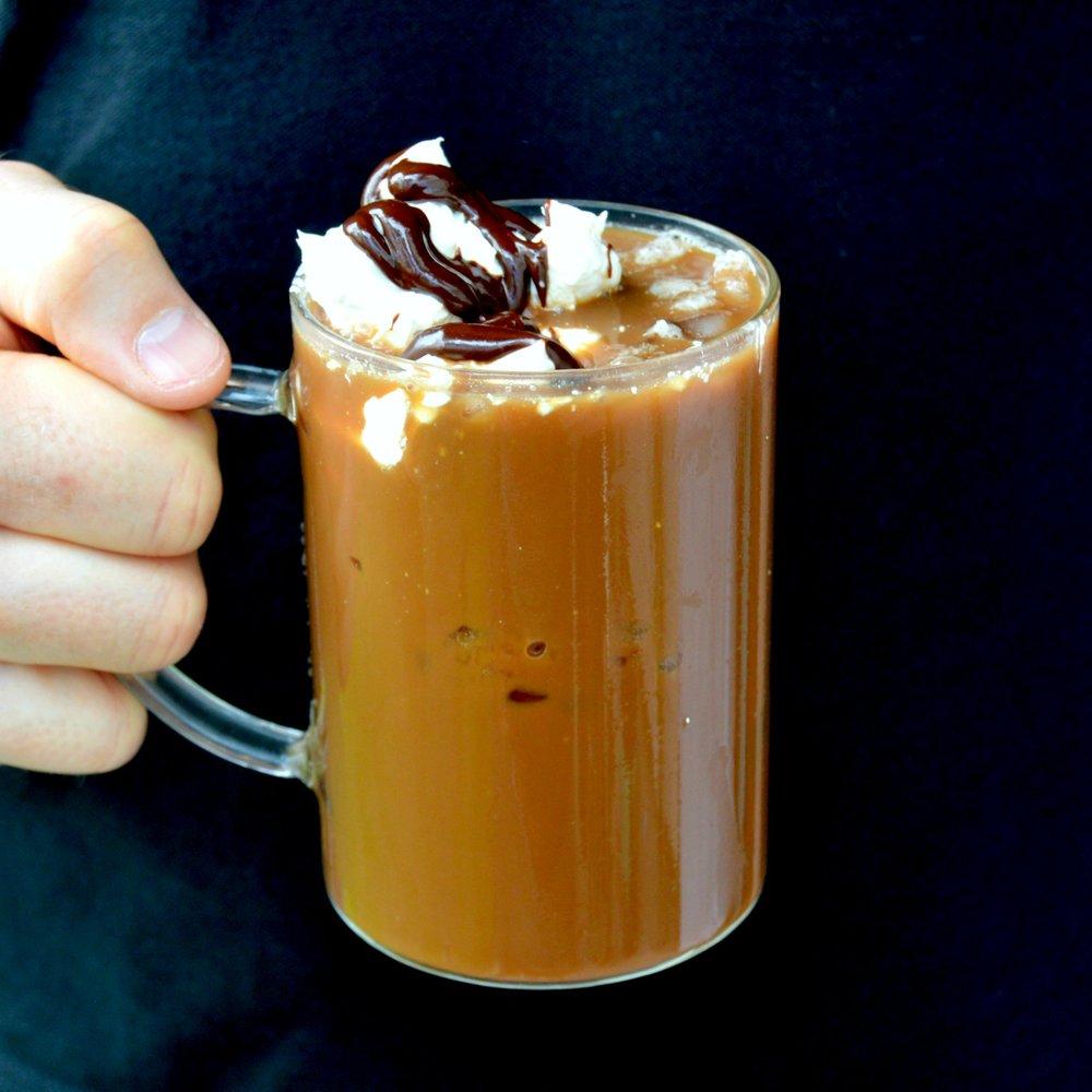chaga iced coffee