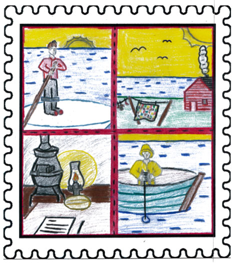 Overall winner Growing Up in Them Days by Ryan Perrier Aged: 13, Grade 8 Our Lady of Mercy – St. George's