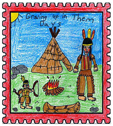 Northern Newfoundland Labrador Straits Winner Growing Up In Them Days by Stephanie Skinner Aged: 10, Grade: 5 Jakeman All Grade