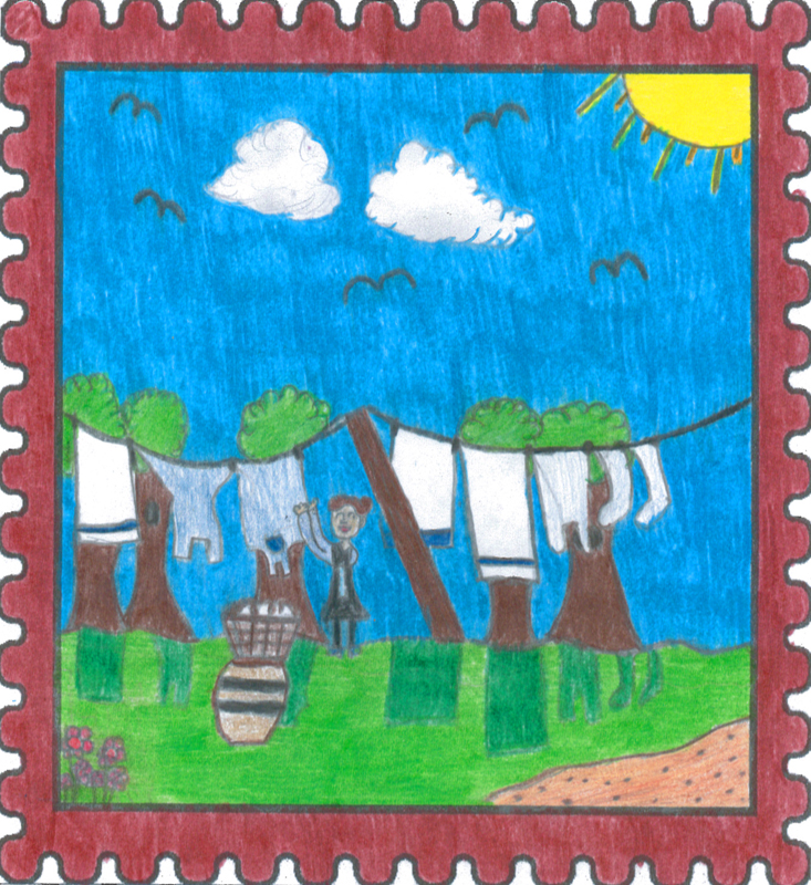 Provincial Winner   In Their Footsteps by   Isabella Ryan   Age: 10, Grade 5 Sacred Heart Academy