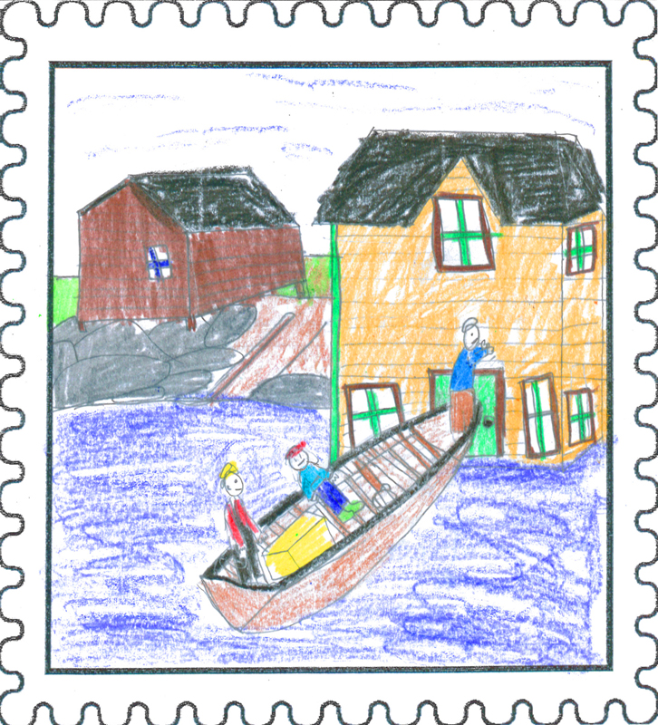 Avalon Winner   Memory Cabin by   Cameron Pretty   Age: 10, Grade 4 Acreman Elementary