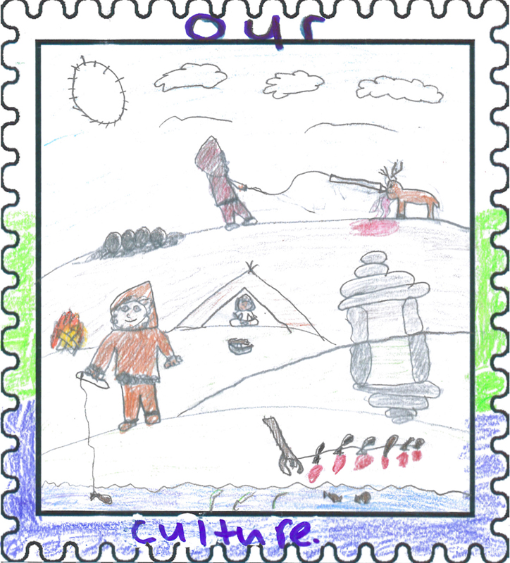 Labrador East Winner   Our Culture by  Alica Jararuse  Age: 11, Grade 6 Amos Comenius Memorial School