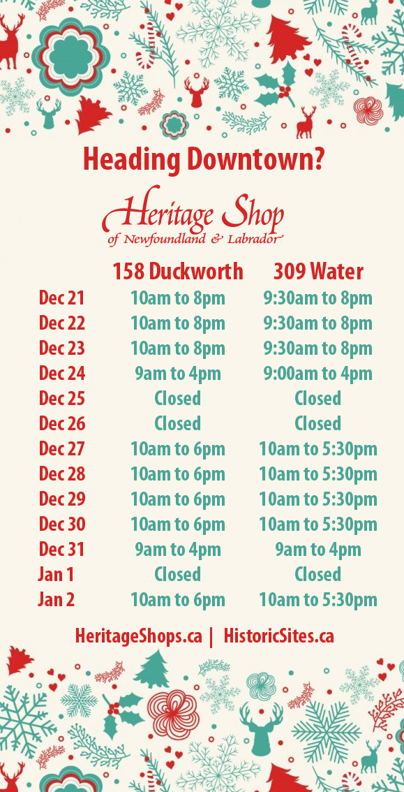 holiday hours downtown