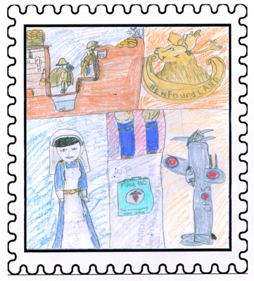 Labrador Winner Service and Sacrifice by Kelsey Jacque Age: 14, Grade 9 B. L. Morrison All Grade School