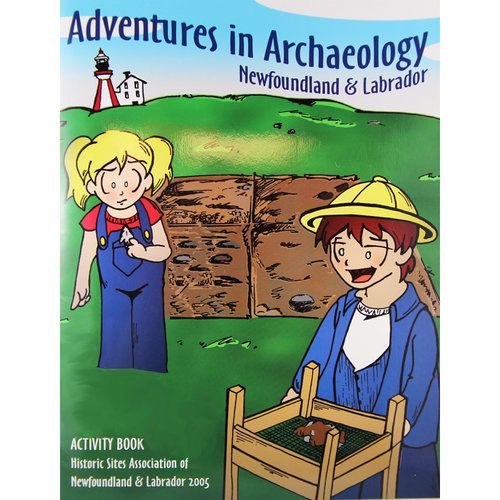 Activity Book, B&W Illustrations, 19 Pages.   ISBN: 0-919735-08-8, (2005)
