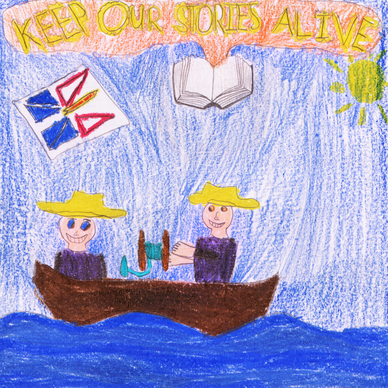 Vista Winner Old Time Fishing by Mark Butt Age: 10, Grade 5 Anthony Paddon Elementary