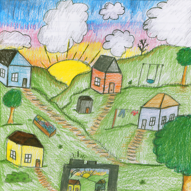 Burin Winner A Snapshot in Time by Katelyn Butler Age: 10, Grade 5 Sacred Heart Academy