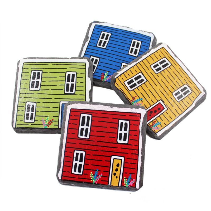Rowhouse Coasters