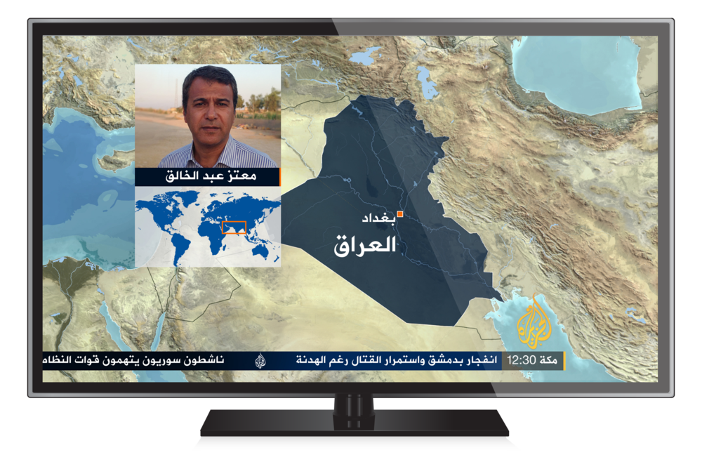 FEATURES Designs and style guides were created to ensure treatments of supporting information graphics followed the structure. From maps to election results. All graphics and style guides were delivered within 3 weeks with a rapid team, enabling Al Jazeera to roll out a new on air system within 2 months.