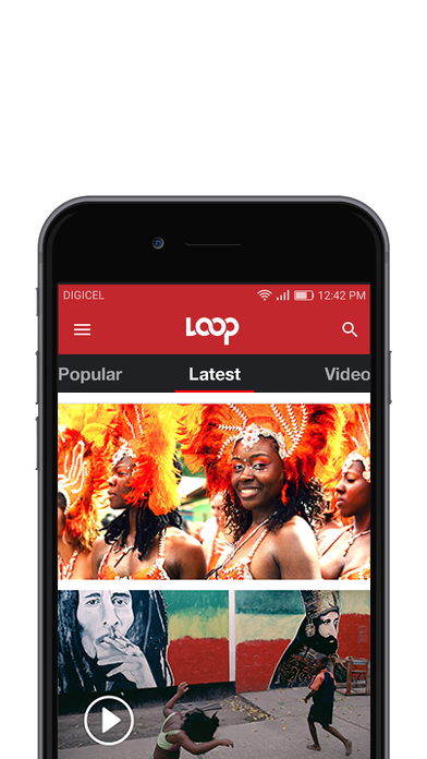 EXCLUSIVE CONTENT   We proposed that Loop should become the only source for news internationally or locally. Deeper, richer stories. Social awareness driving local galleries, documentaries and picture led navigation with Local content at the top a core USP of the design. Full integration with social media and archive becoming a core offering of the service.