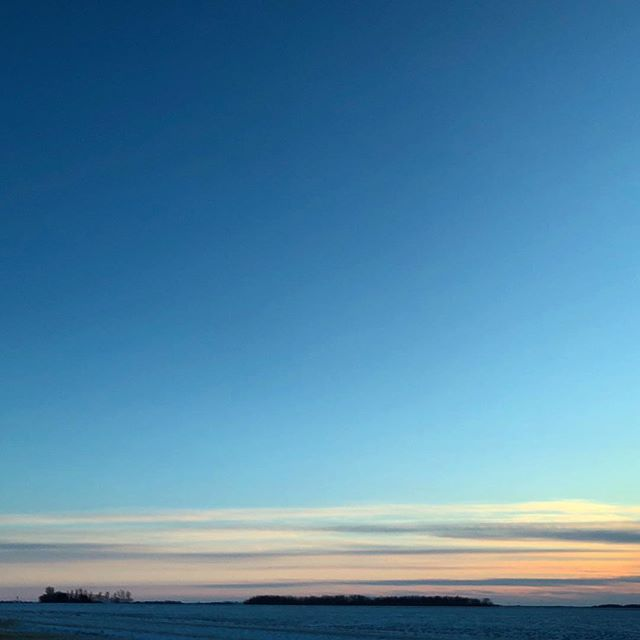 Lovely prairie sunset. Like a watercolour painting in real life, photo doesn't capture the truly amazing colours!
