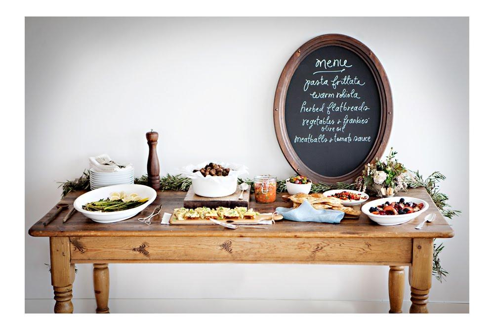 sunday suppers :: rustic italian + martha stewart living !!! — -