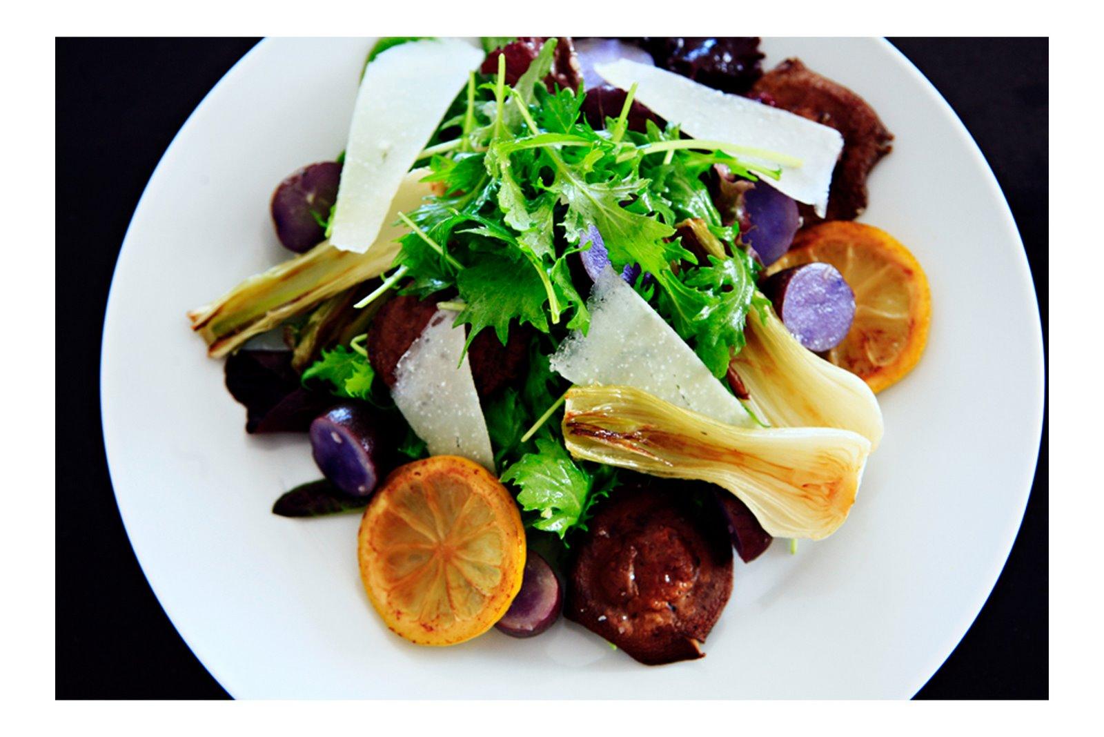 Midday Meals :: Farmer's Market Salad — -