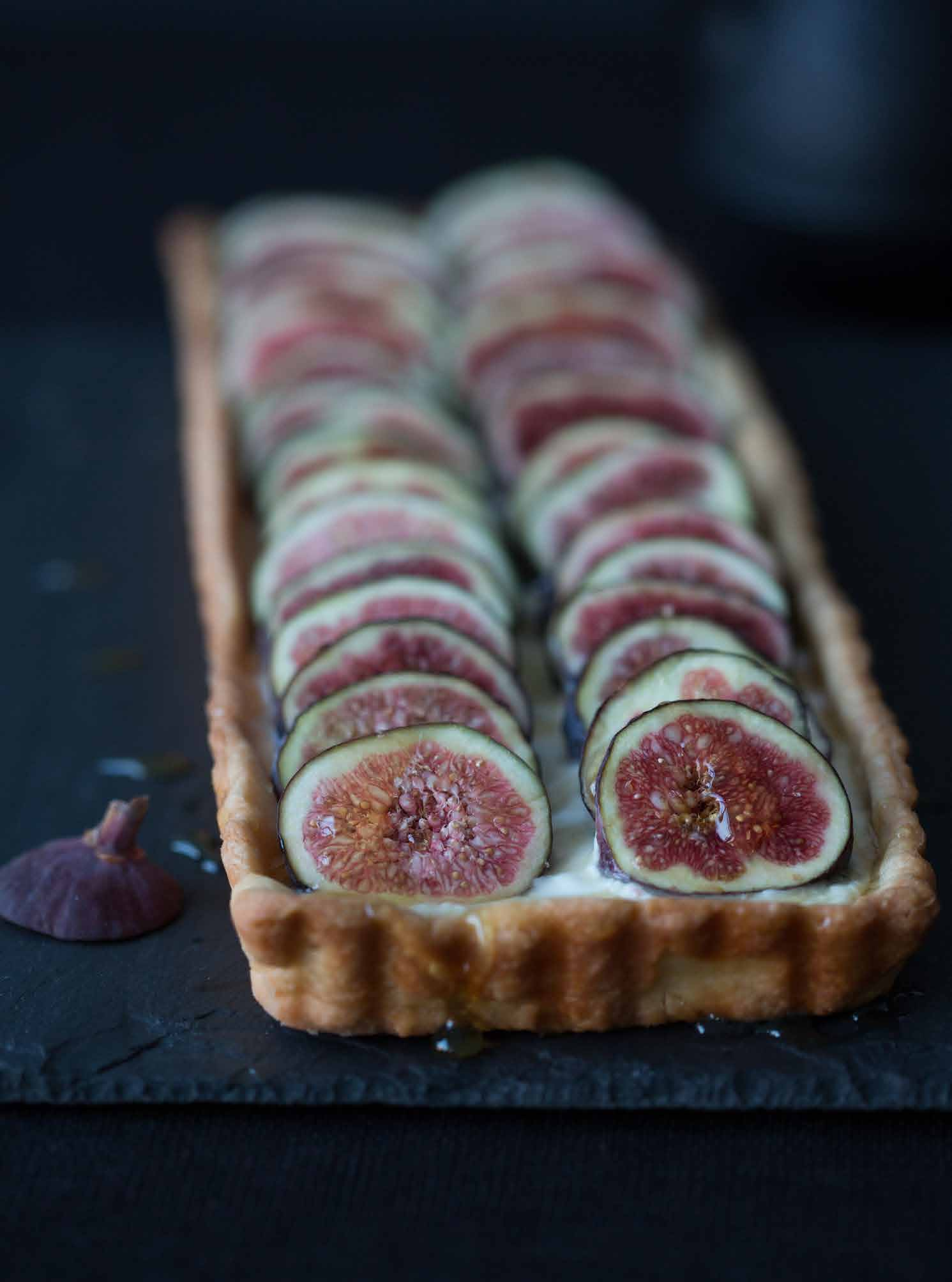 Sunday Suppers - Fig Tart Honey
