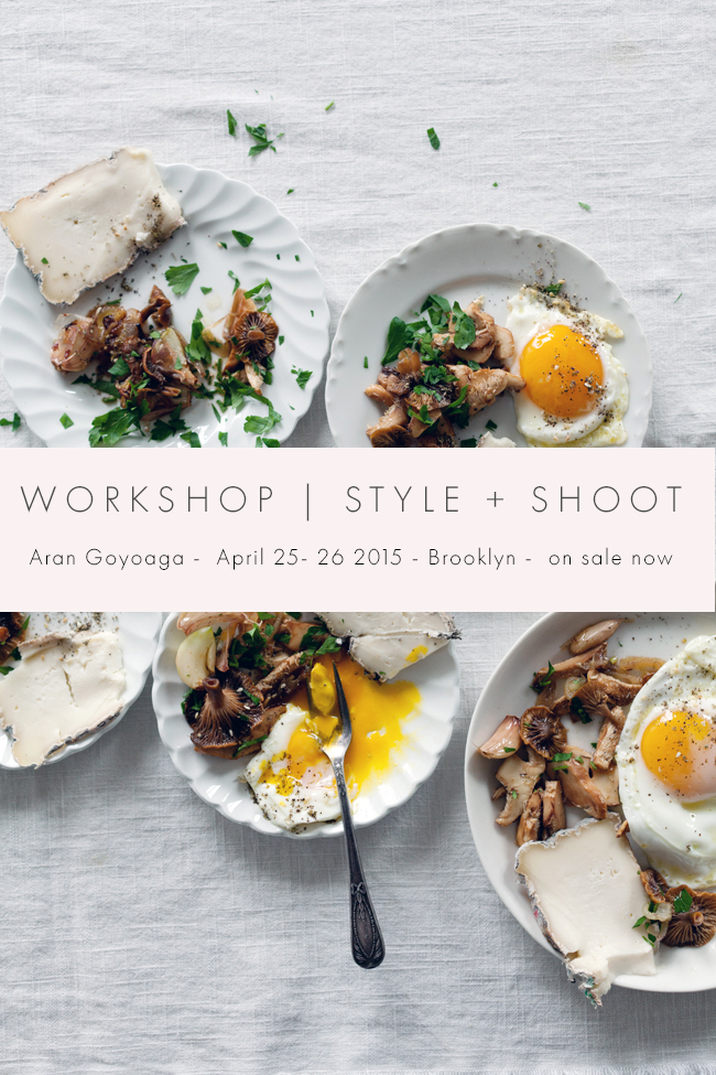 SUNDAY SUPPER Food Photography Storytelling Workshop With Aran - Cuisine aran