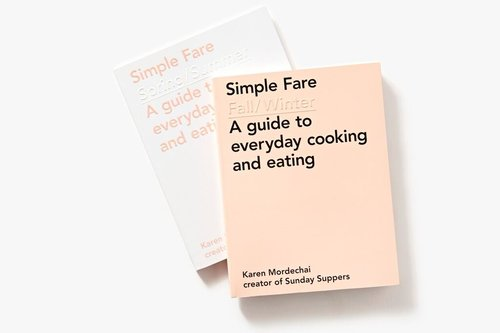 simple fare fall winter cookbook signed copy sunday suppers