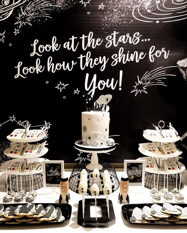 We just love love this theme so much, great job to the ultimate party mama @teresatrinh_ and @kristinakreates3 for the setup @madebylinda_ for the cake toppers and  cakes/desserts @mrs_posh_