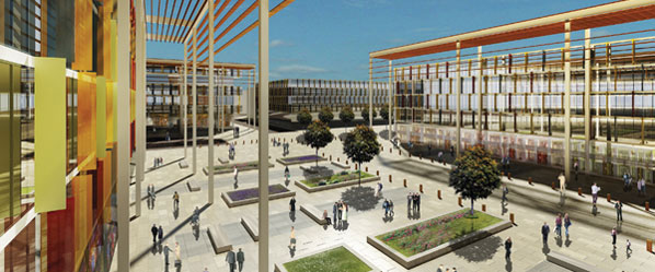The development of the Southampton Station Quarter is expected to create an exciting arrival experience fit for a major city